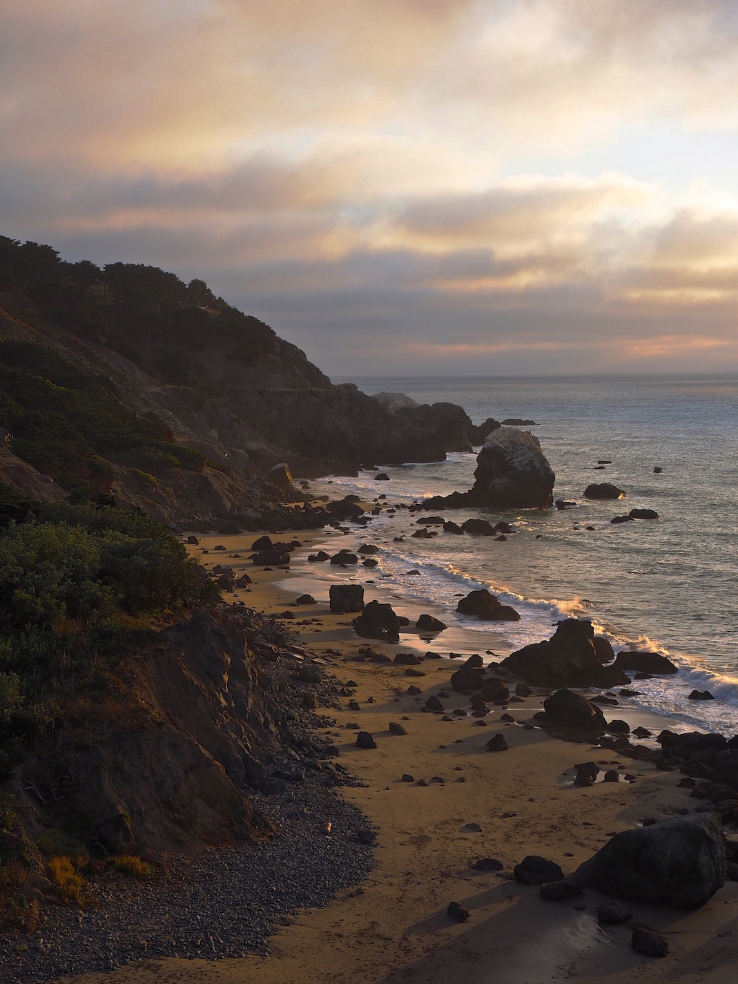 Sunset, Land's End, California