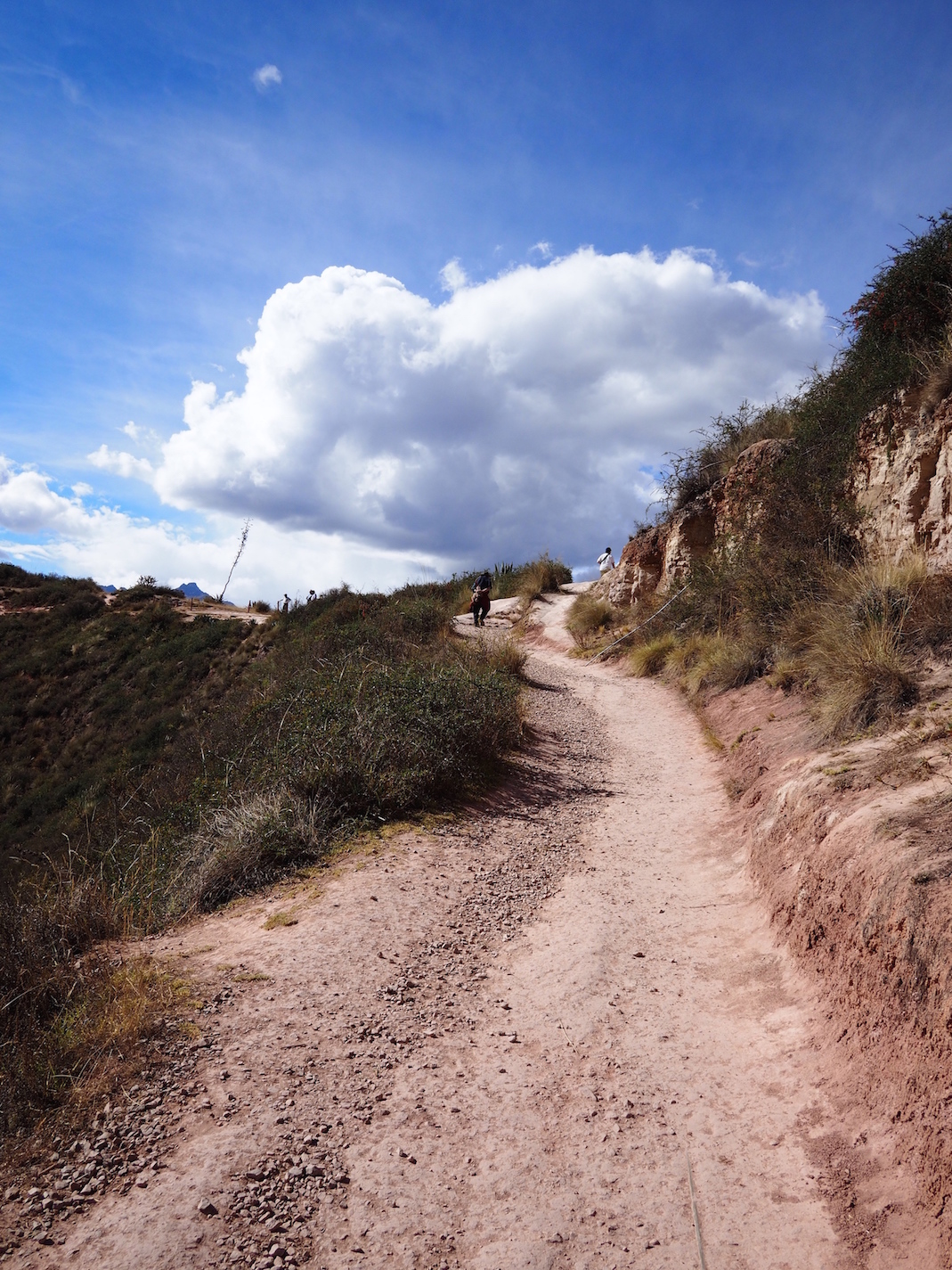 Path from Moray, Peru