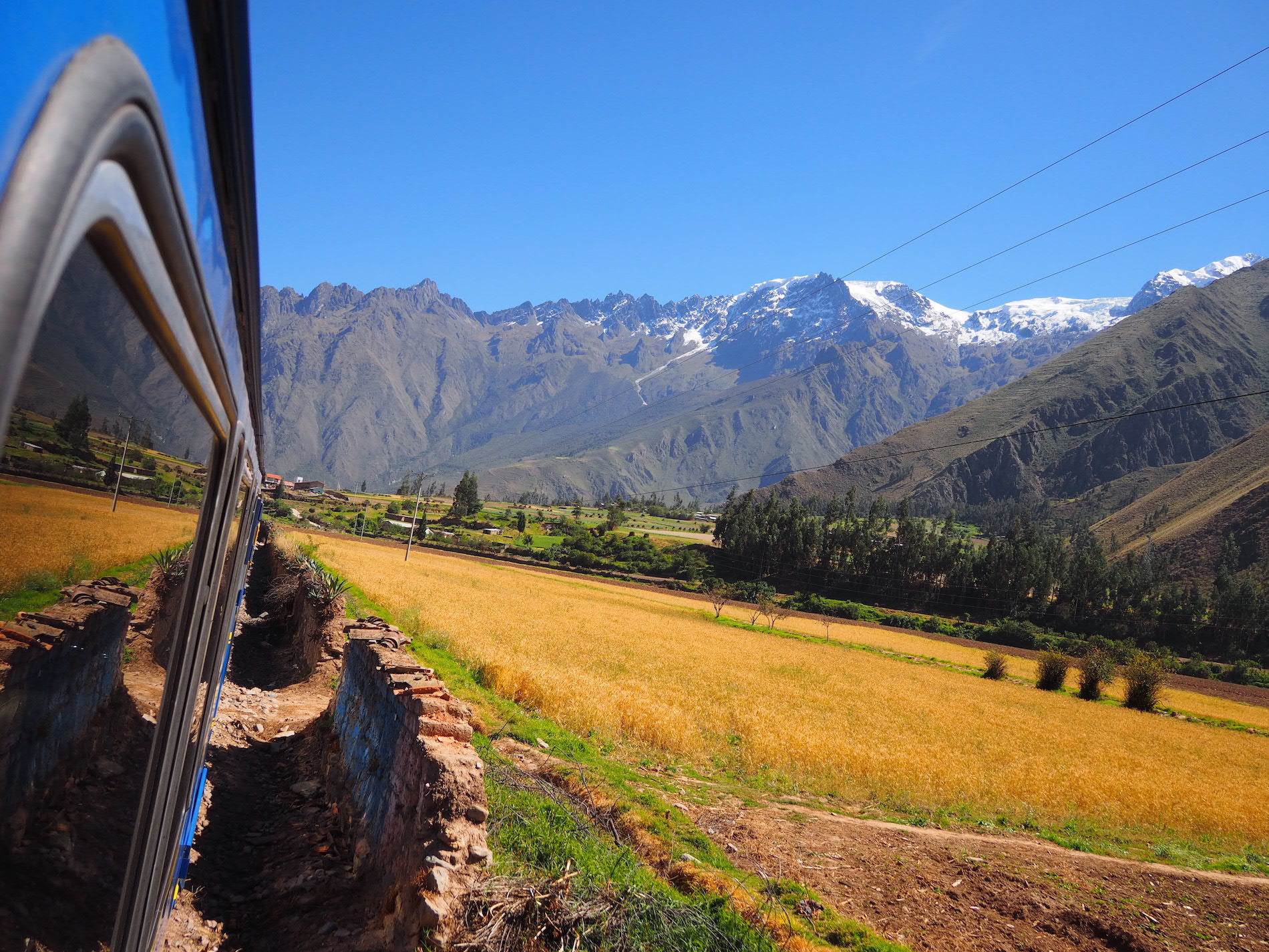 Train to Aguas Calientes, Peru