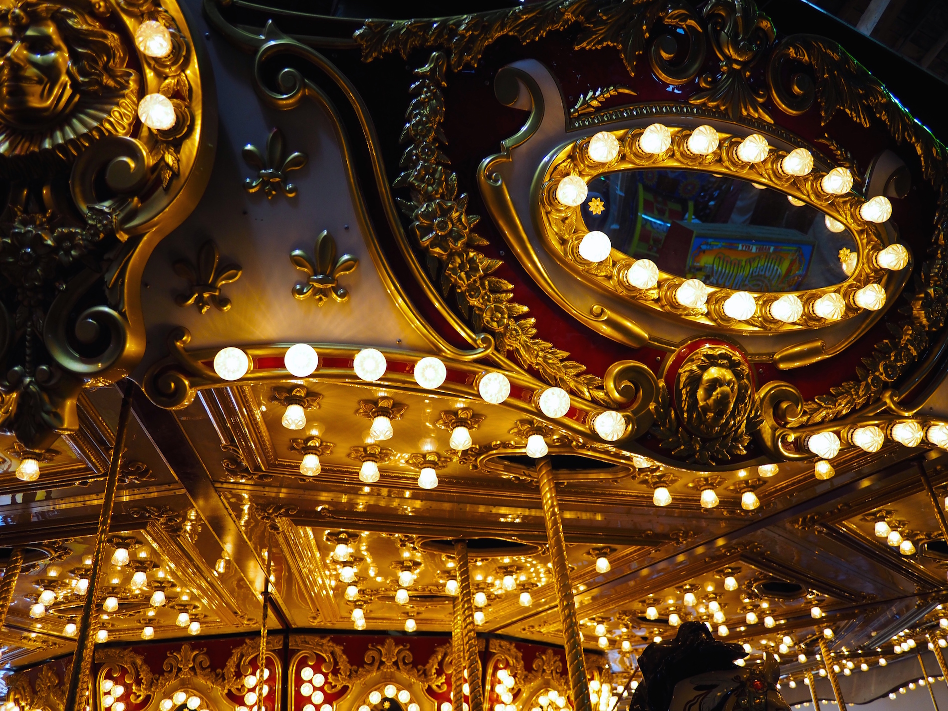 Merry-Go-Round at Rest, Seattle, Washington