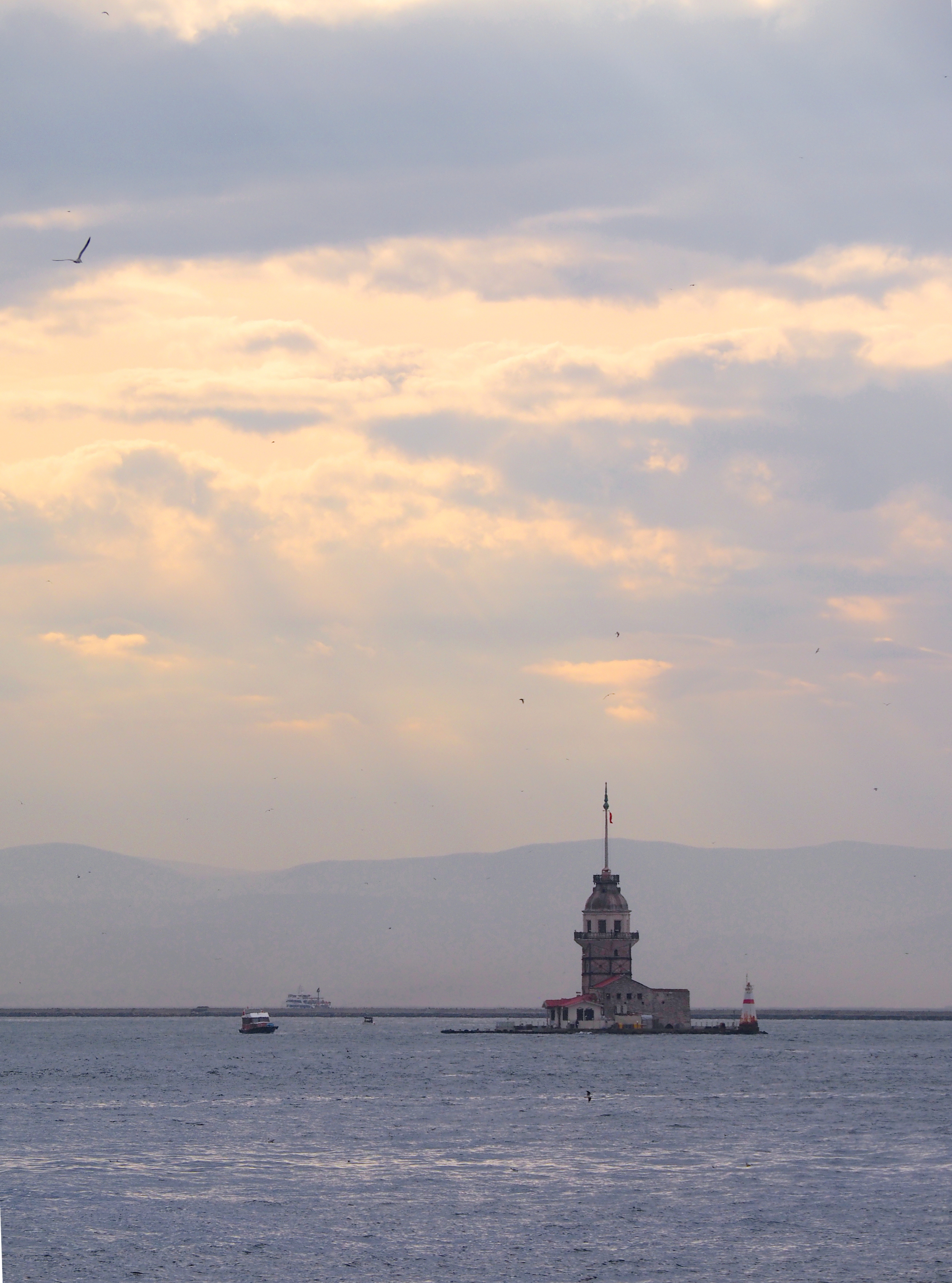 Kız Kulesi, The Maiden's Tower, Istanbul, Turkey