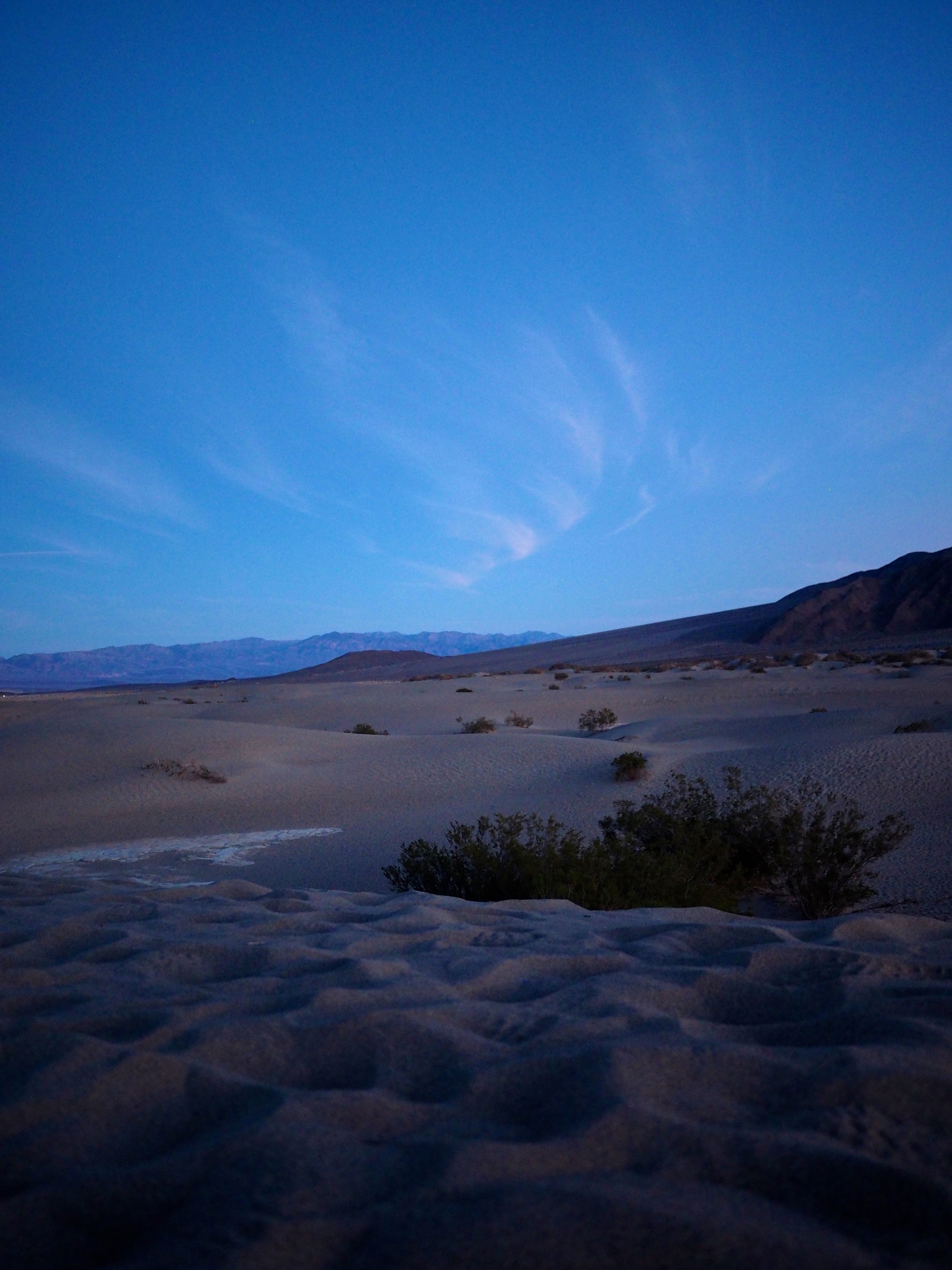 Dawn, Mesquite Flat Sand Dunes, Death Valley, California
