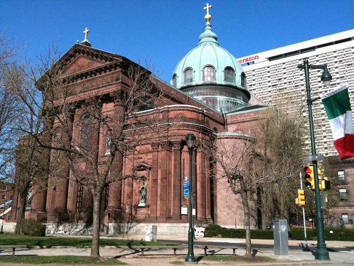 The Cathedral Basilica of Saints Peter and Paul. Philadelphia, PA