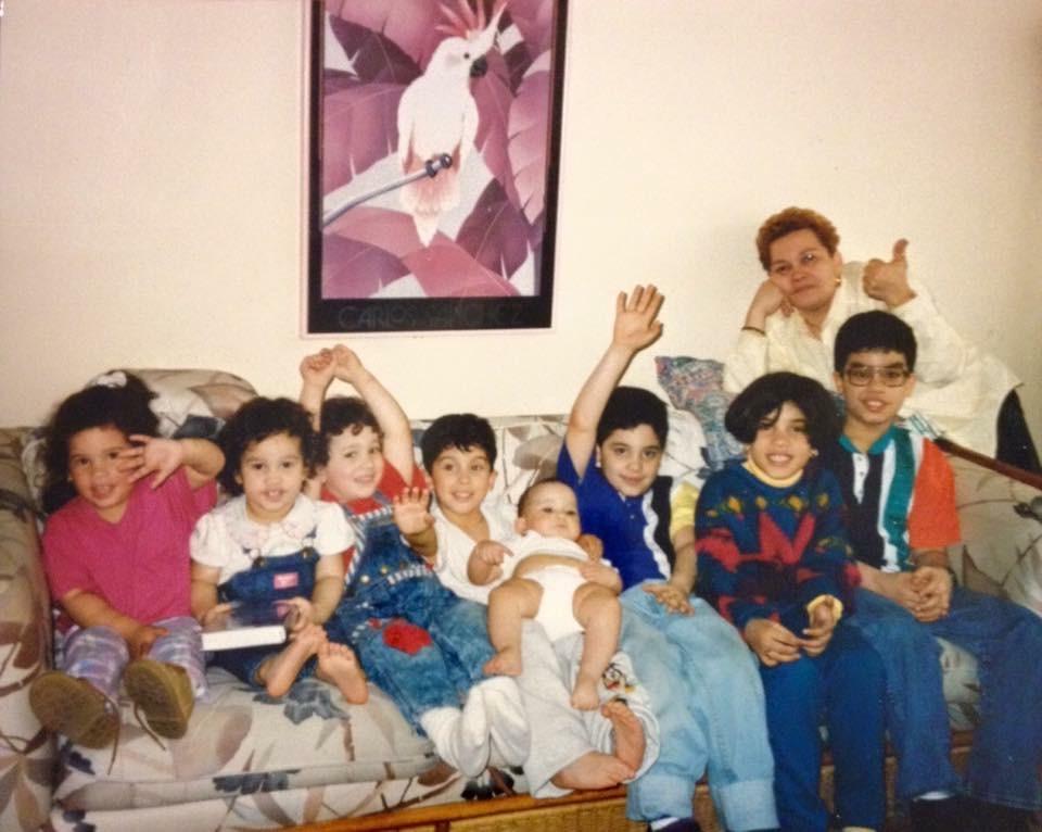 Abuelita y sus nietos