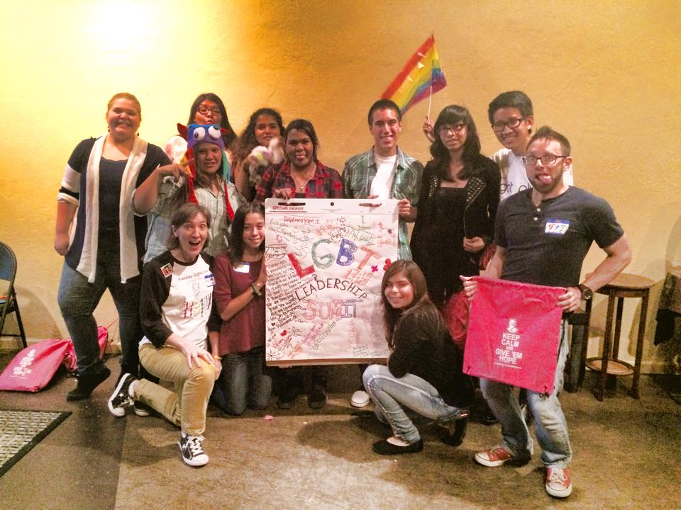 November 2014 - Hosted our first ever LGBT+ Leadership Summit composted of 5 Central Valley organizations teaching youth about local resources.