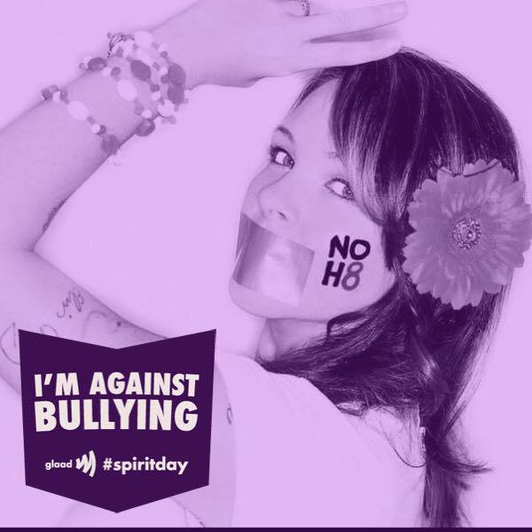 October 2014 - Took a visual stand on social media against bullying by participating in #spiritday