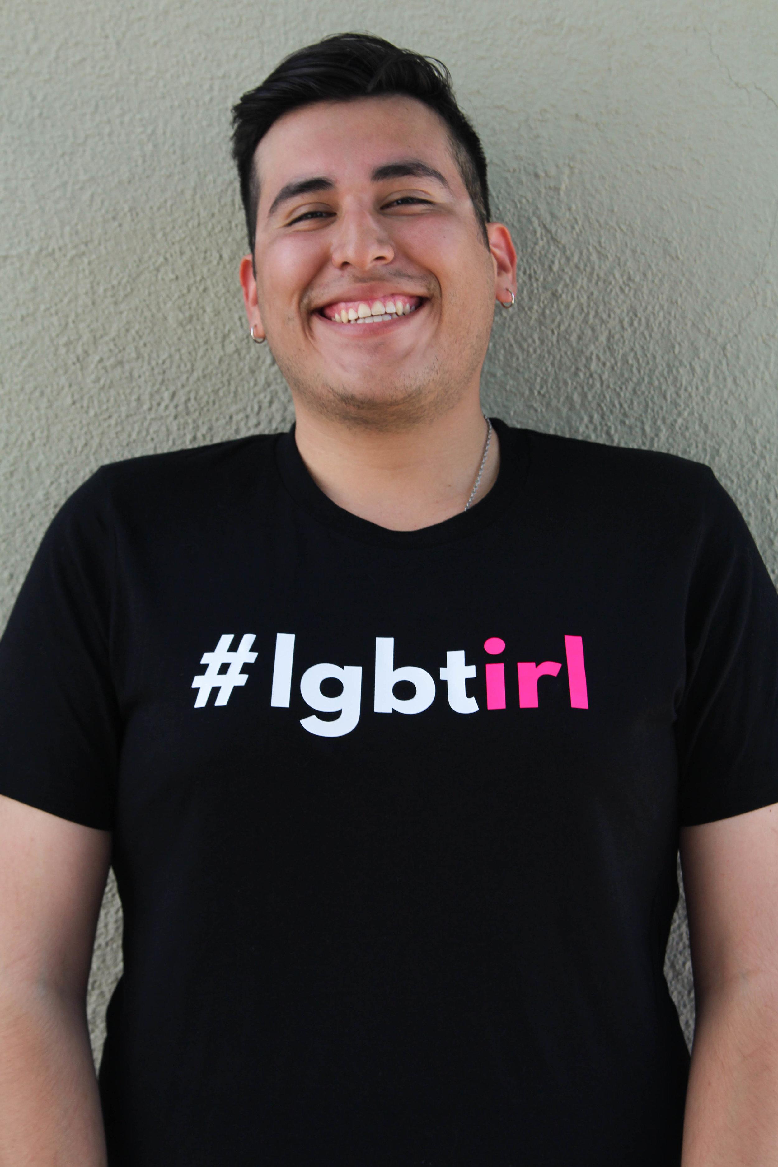 #lgbtirl - Pink (Model: Daniel Mendoza)    Photo by Kiana Shoots Photography