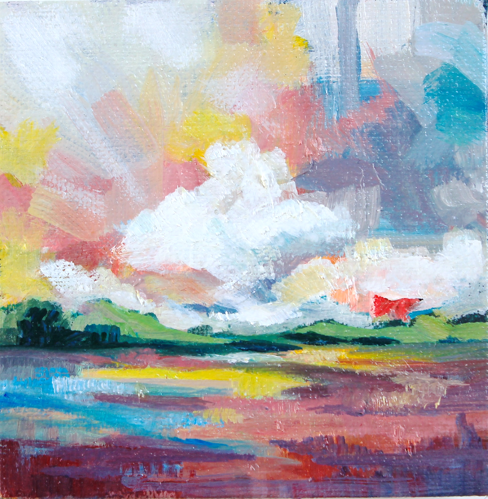 Rainbow Skies - SOLD