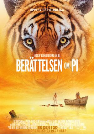 - Här möter vi 16-åriga Pi som efter ett skeppsbrott befinner sig som enda överlevande människa ombord på en livbåt mitt ute på Stilla Havet. Hans enda kompanjon är en tiger.