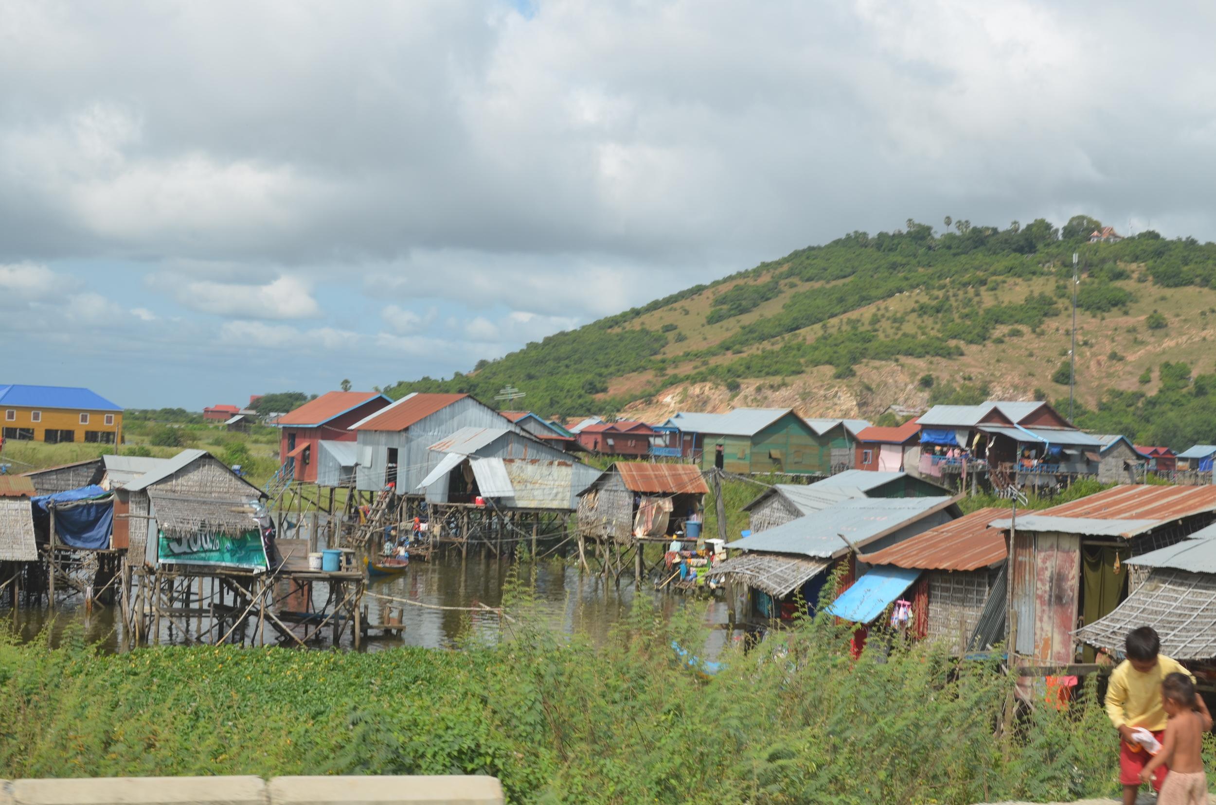 View of Tonle Sap