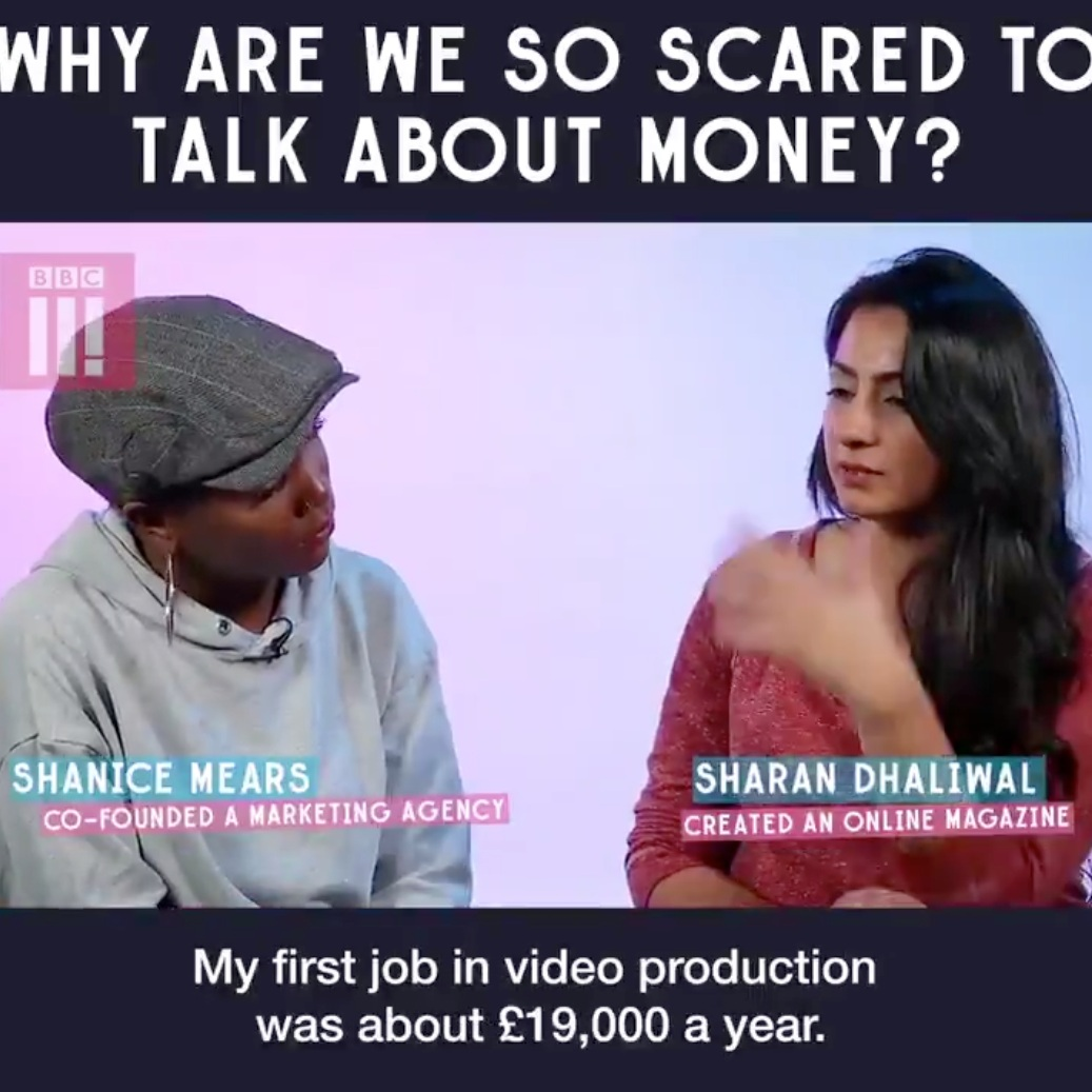 BBC Three - Discussing my relationship with money as a business woman and how being open with it has changed my perspective.WATCH FULL VIDEO HERE