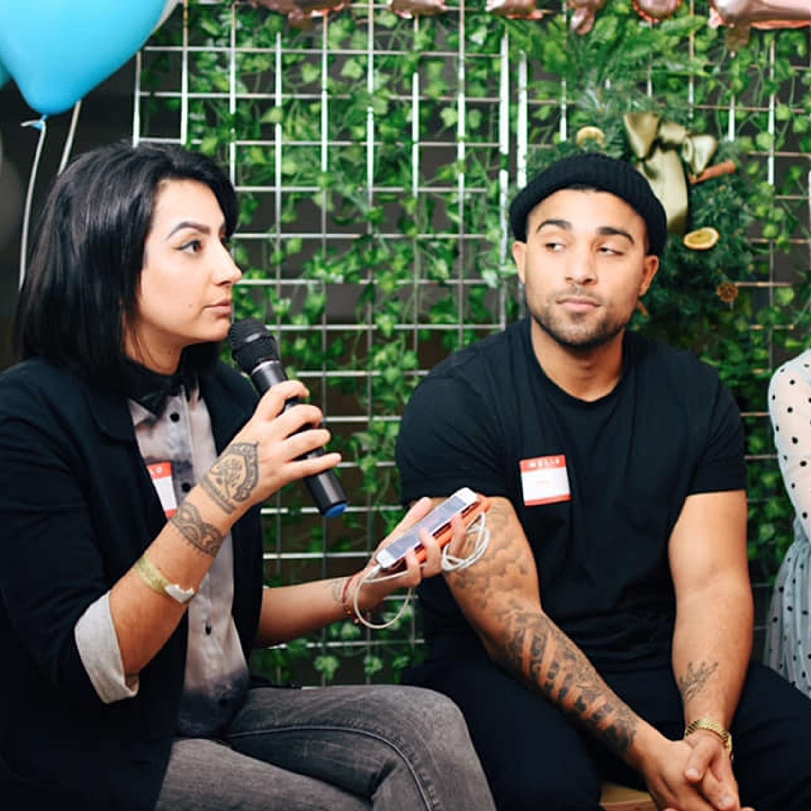 Unread Magazine 'Pockets of Inspiration' - I hosted Unread magazine's panel talk for their event 'Pockets of Inspiration', talking to Jay Richards from DivInc, Lara & Tiffany from Brush & Bubbles and writer Daniel Ingram-Brown about starting new business for young creatives.
