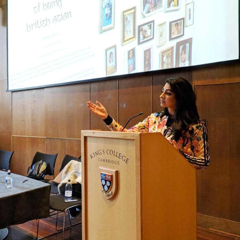 Cambridge University - BOBBA Exhibition - I spoke at Cambridge University about the exhibition my magazine put on in London called The Beauty of Being British Asian, with three other artists from the show - Zain Haider Awan, Jasmin Sehra, Jamal Mehmood.