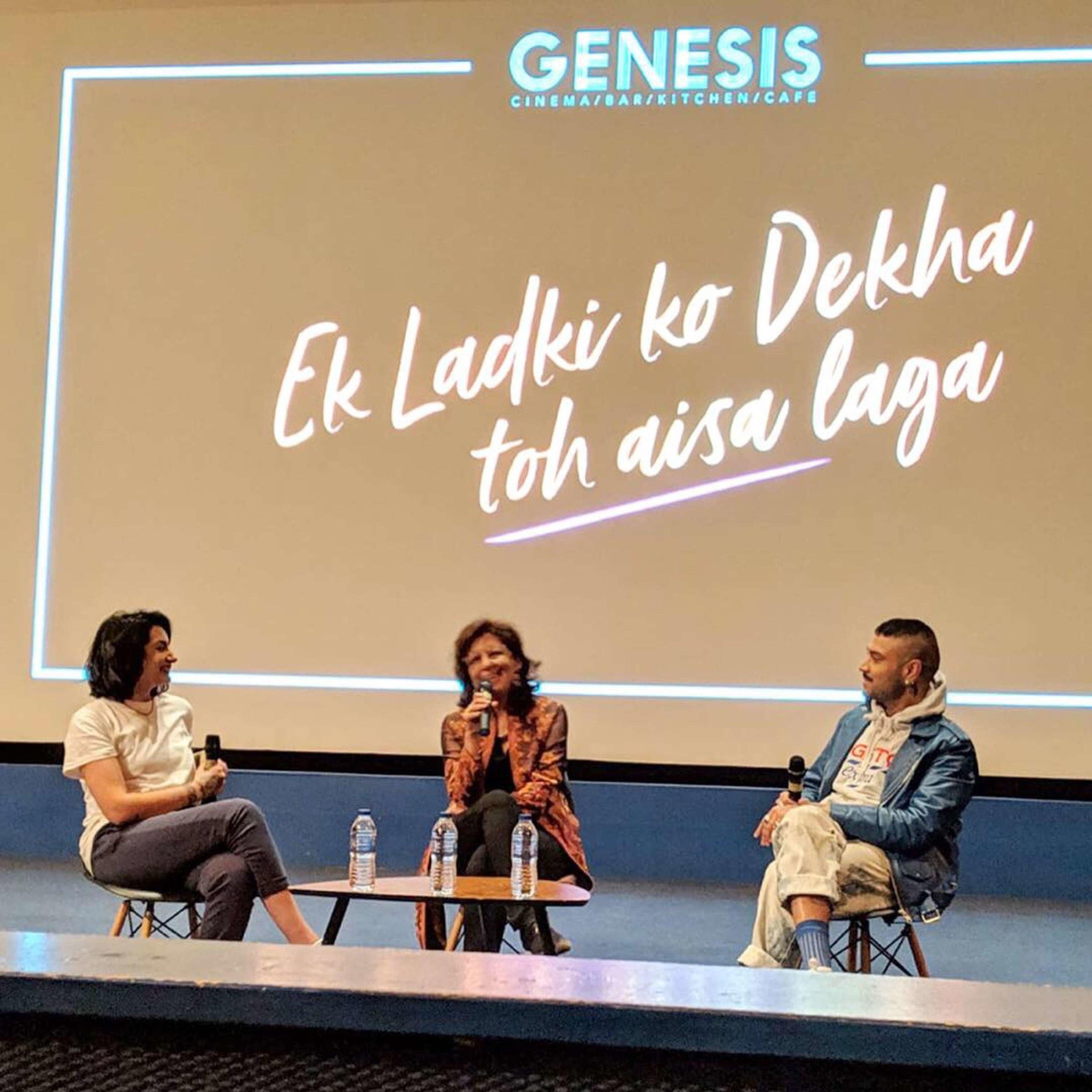 Q&A with director of Bollywood film Ek Ladki Ko Dekha Toh Aisa Laga - I co-hosted a Q&A with director Shelly Chopra Dhar of the first big Bollywood blockbuster that centres a lesbian romance.