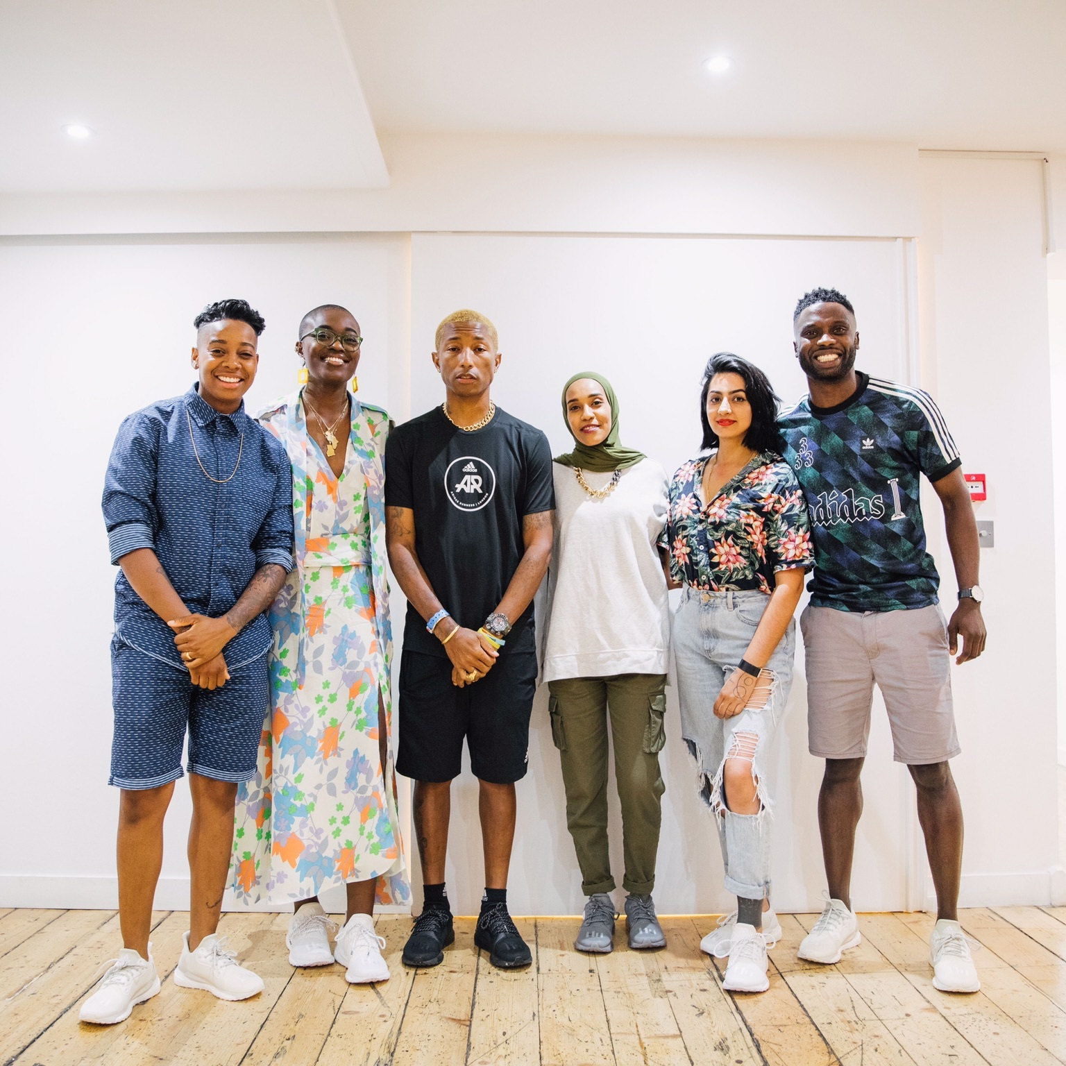 Adidas x Pharrell Solar Hu Panel Talk - I was joined by Asma Elbadawi, Nicole Crentsil, Ayo Dada and Ashley 'Dotty' Charles AKA Amplify Dot to talk about overcoming obstacles in the launch of Pharrell William's new Solar Hu footwear drop.