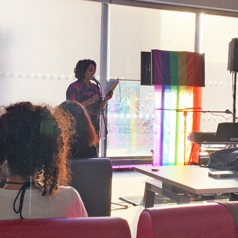 Forest Gayte Pride Keynote Speech - I was honoured to be asked to give a keynote speech at Forest Gayte Pride 2019 - to talk about the significance of making Pride accessible to all genders, sexualities and races .