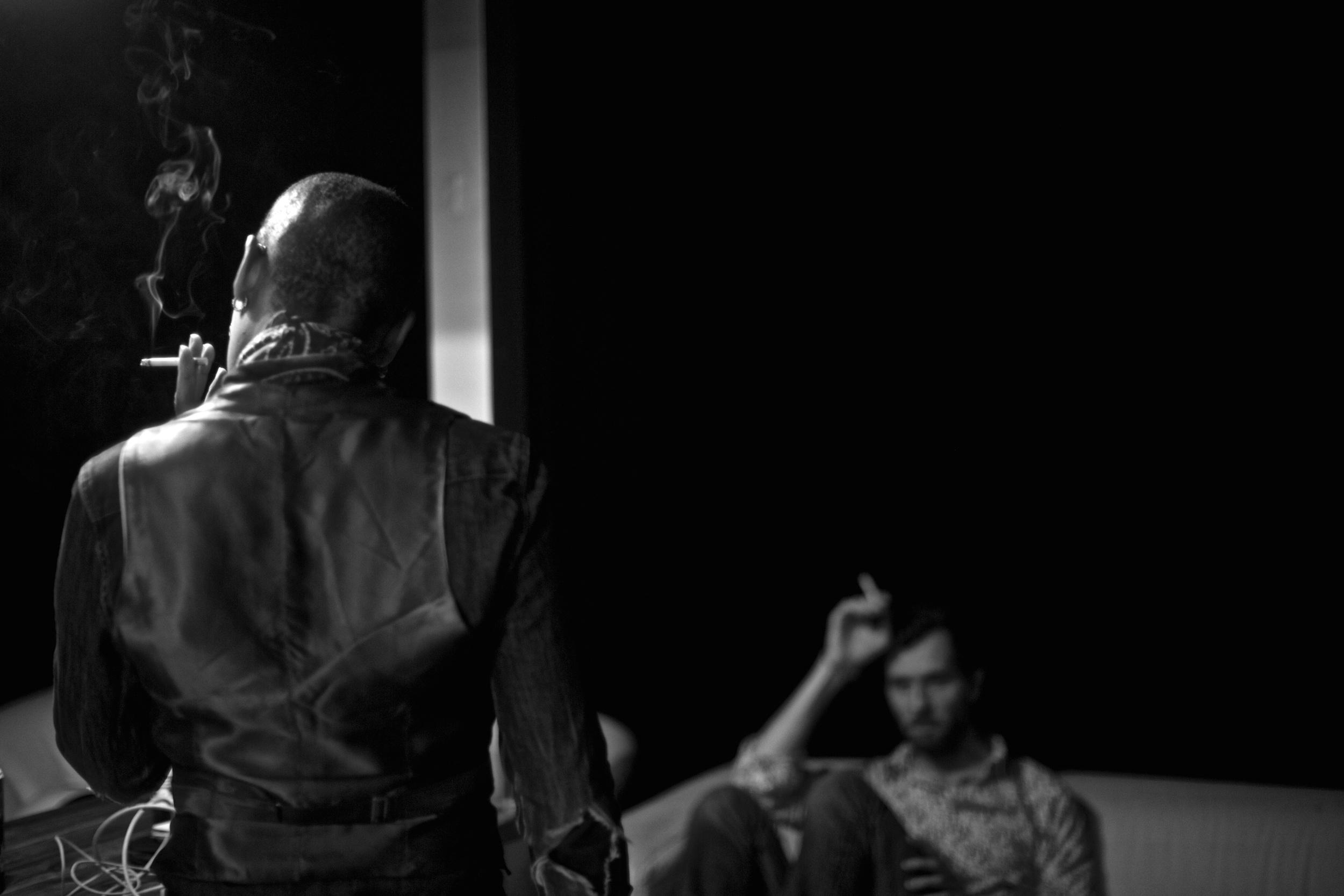 Krystle Warren during Shadows sessions @Marc Obin