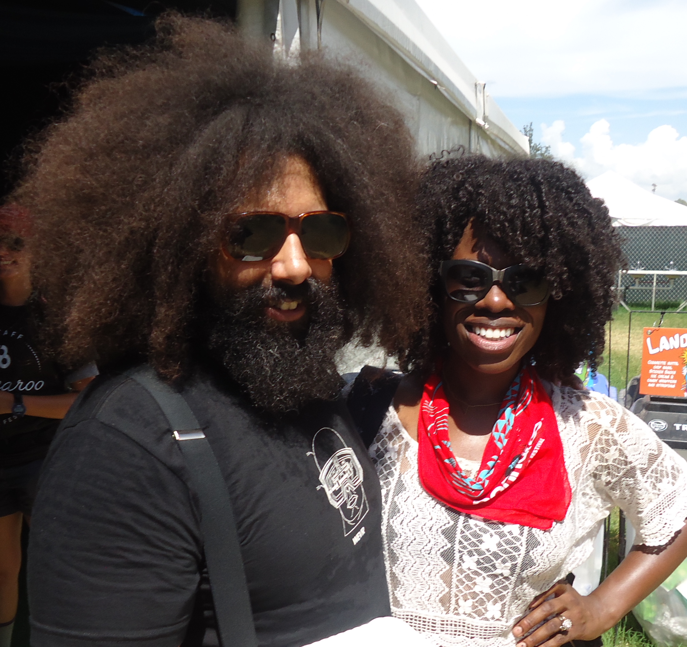 Reggie Watts and I