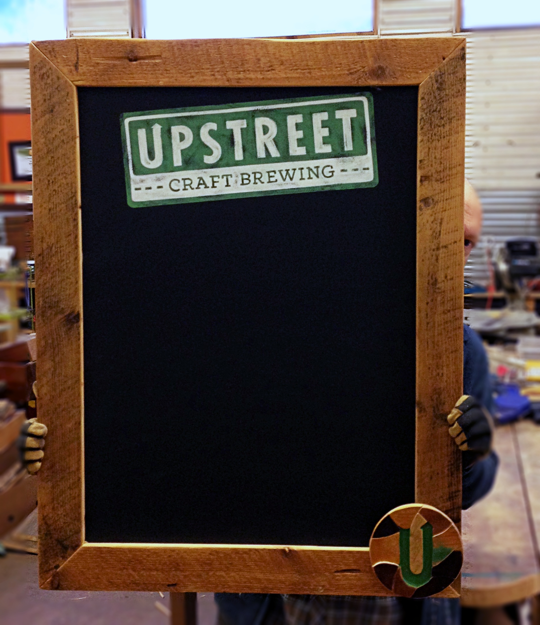 Chalkboard Collaboration with Shiny Paint