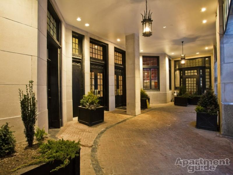 Front Doors at The Touraine Apartments in Rittenhouse Square Philadelphia