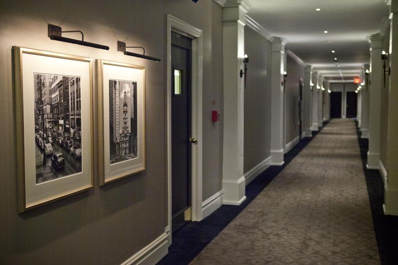 Hallway Pictures at The Touraine Apartments in Rittenhouse Square Philadelphia