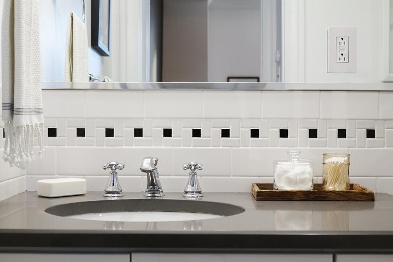 Bathroom Sink at The Touraine Apartments in Rittenhouse Square Philadelphia