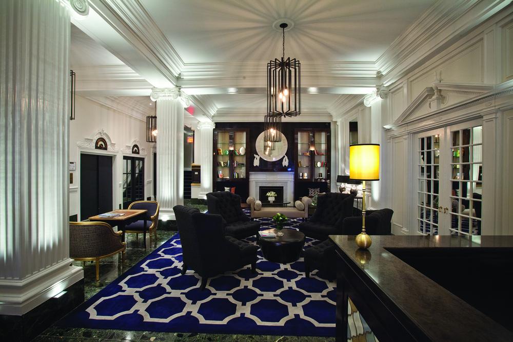 Center City luxury apartment complex