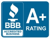 Find our customer reviews on the BBB website. Click on the BBB button above.