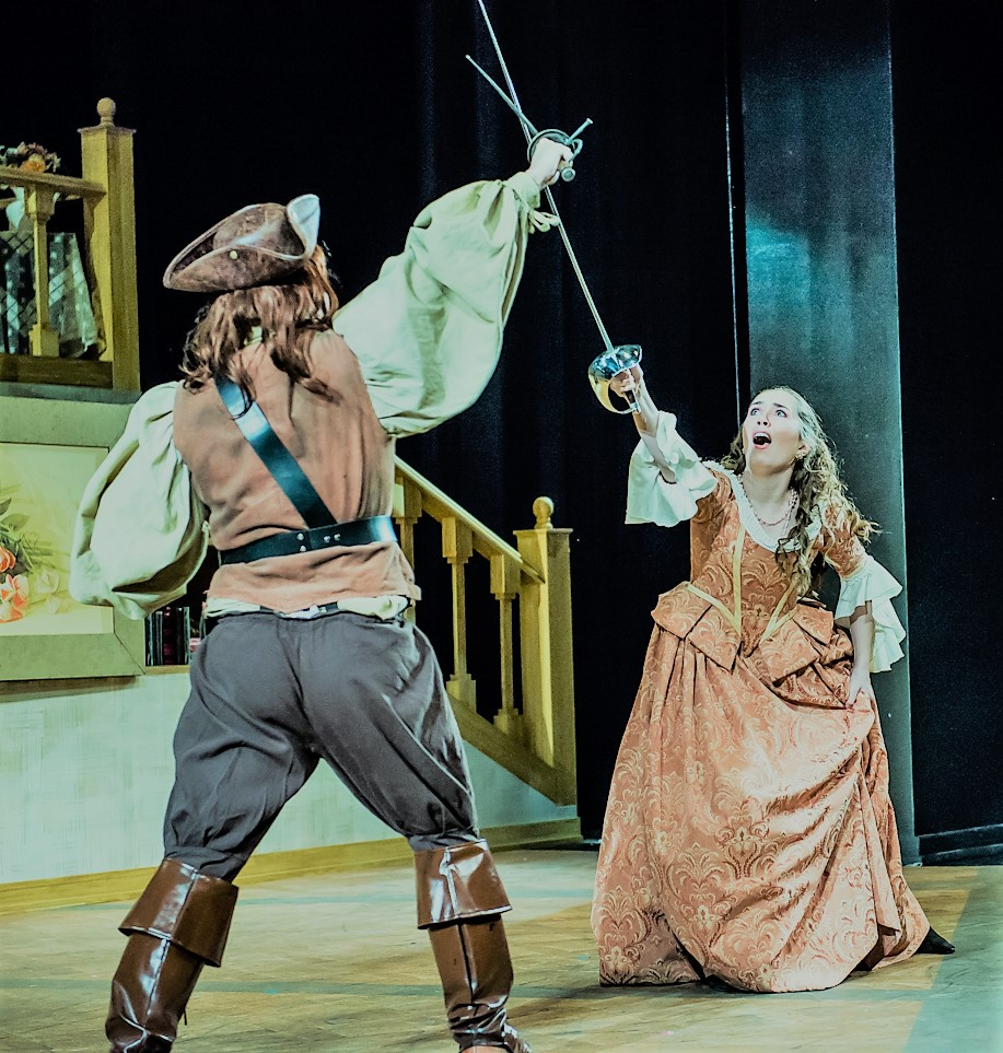 THE BEAUX' STRATAGEM   Fight Choreography - Winter 2018