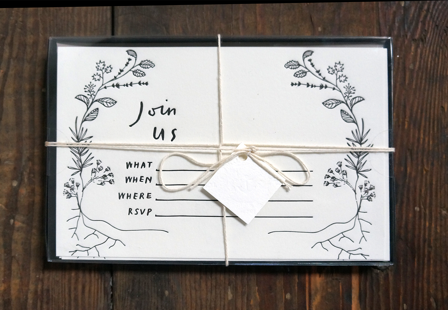 Type A Press - Invitations $36