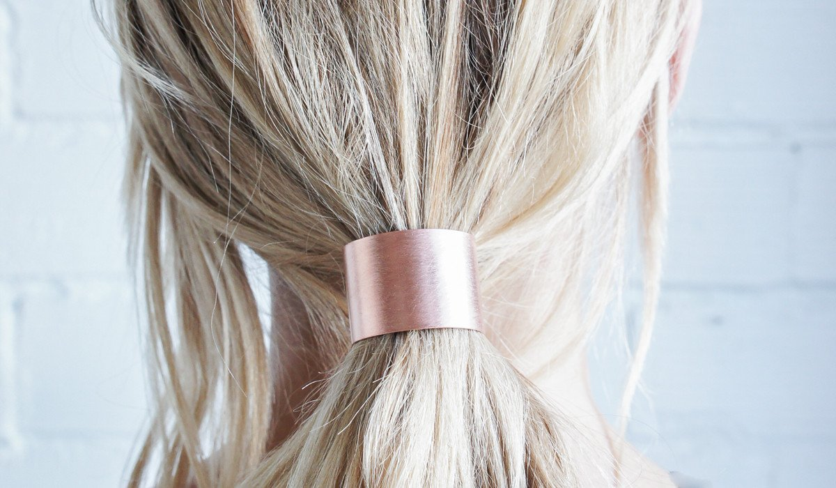 Spartan Shop - Caravan Pacific Brass Hair Tie $32