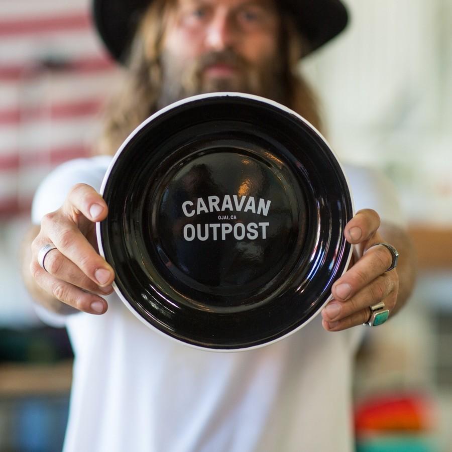 Caravan Outpost - Enamelware $20