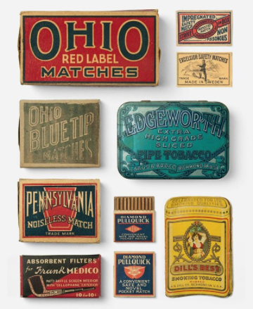 Joshua Minnich's collection of incredibly well designed packaging, labels, tins and more. He has a book coming out (this is the sneak peak) and we can't wait to get our paws on a copy!