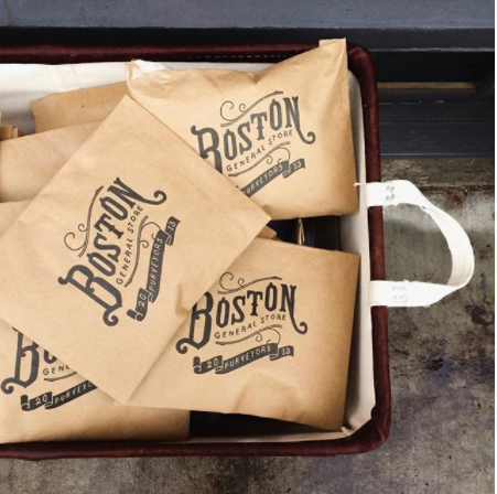 We wouldn't complain if everything we ordered came wrapped like these perfect brown paper packages from Boston General Store, who's busy shipping out holiday orders (yay!)...It's acceptable to save the packaging, right?