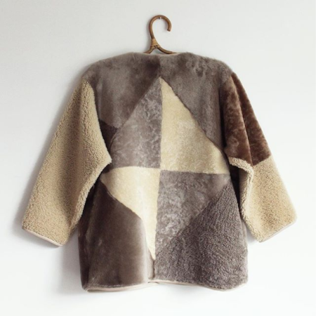 Milena Silvano, your sheepskin creations have worked their way into our hearts...and hopefully, one day, into our closets. Extraordinary is the word.