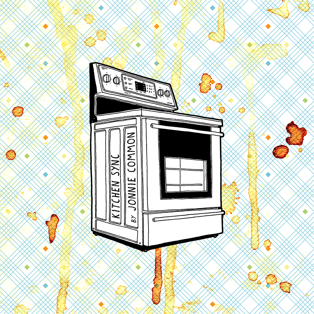 Jonnie Common  Kitchen Sync  2016  FRIDGE MAGNETS / DL   BUY  /  LISTEN