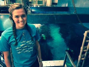 Copy of Shark Tank Diver-Presenter, Norwalk Aquarium, CT