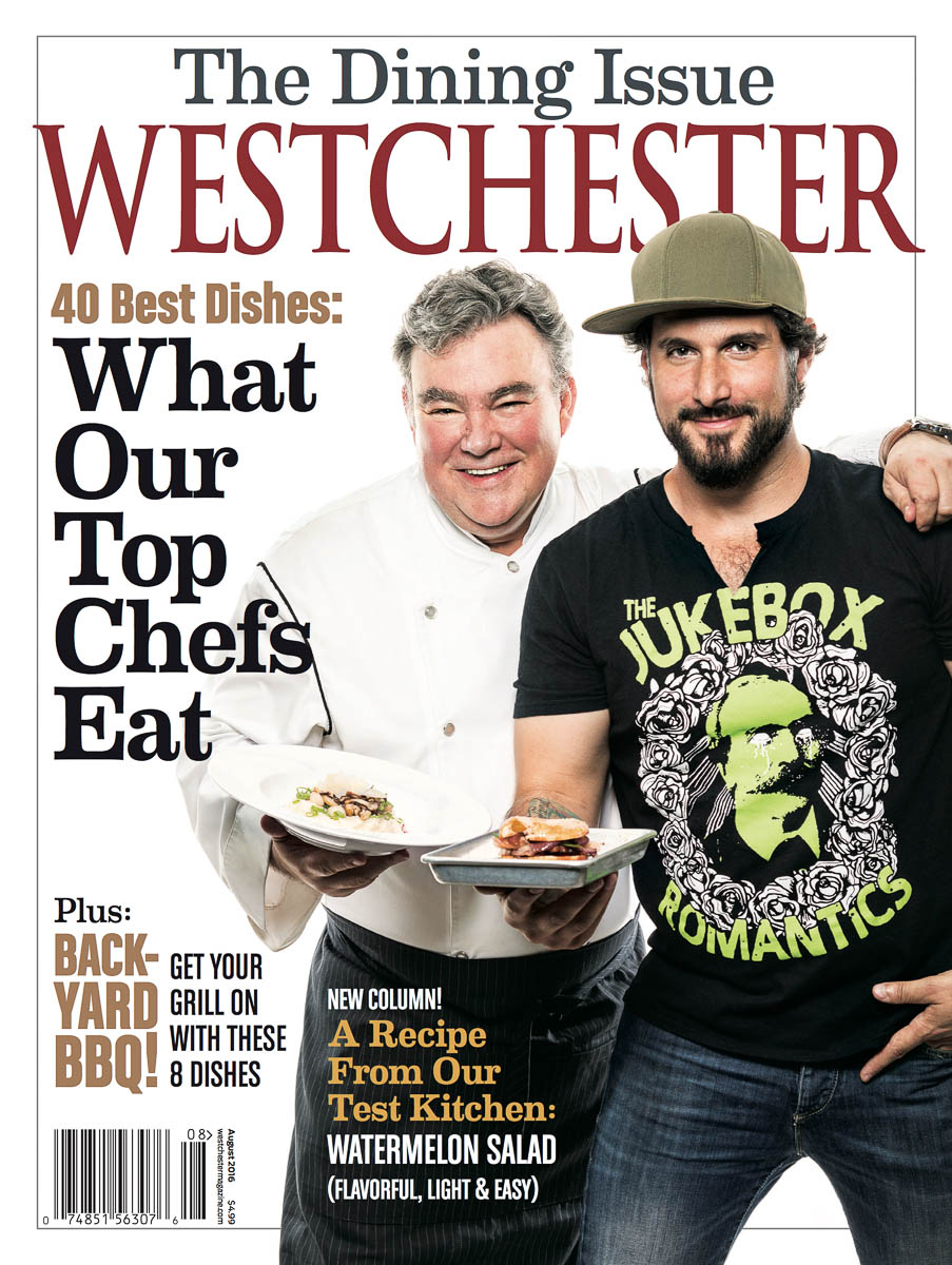 Cover Westchester Magazine - Peter Keller and David DiBari