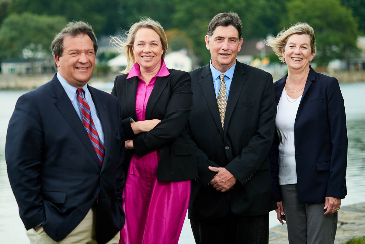 George Latimer, County Executive of Westchester County, NY, Catherine Parker, Legislator 7th District, Westchester, NY and Majority Leader, Tom Murphy, Mayor of Village of Mamaroneck and Nora Lucas, Trustee