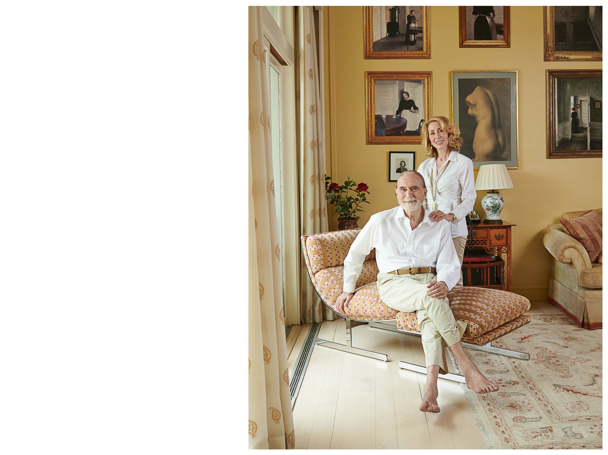 John Loeb and Sharon Handler Loeb