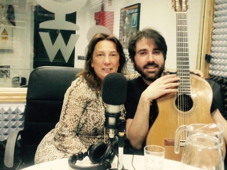 Anthony junto a Mireya Fernández
