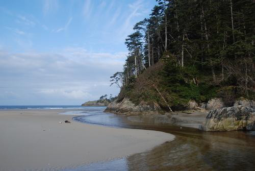 Lepas Bay on the West Coast of Haida Gwaii