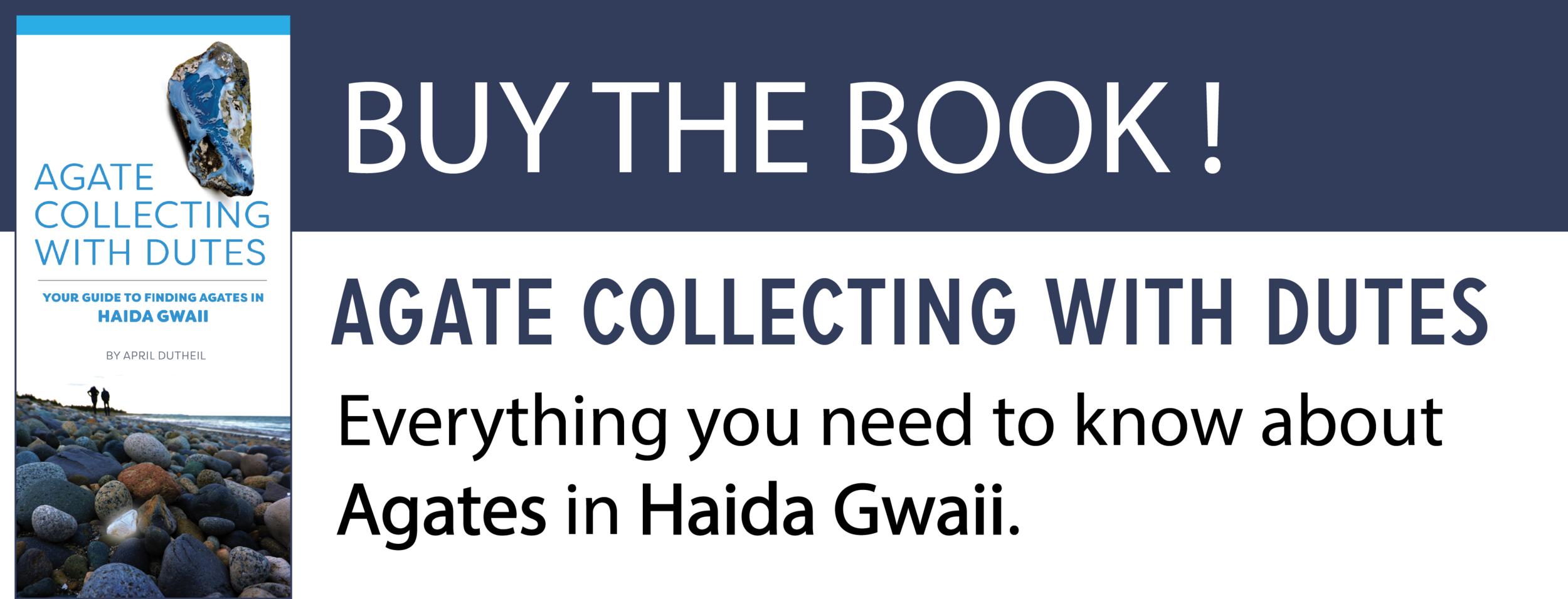 Haida Gwaii Agate Book