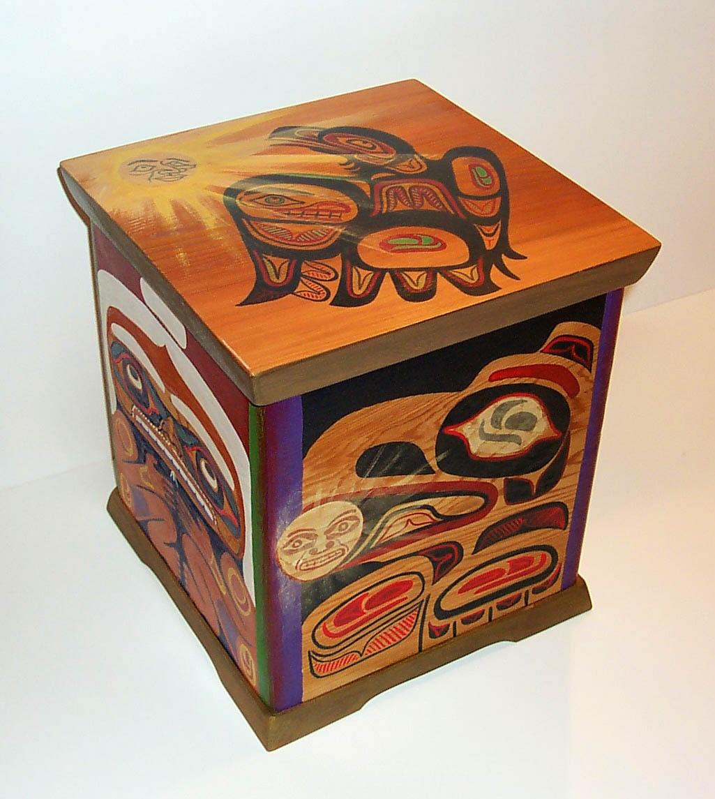Red Cedar Bentwood Box
