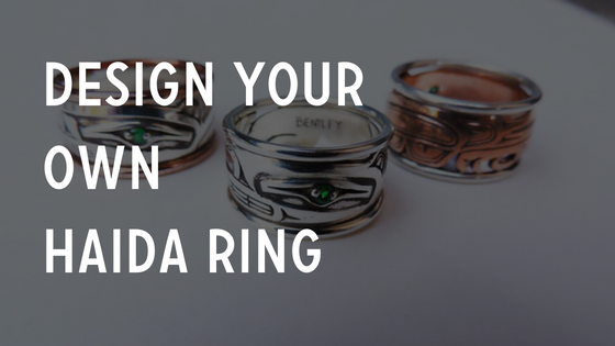 Design your own haida ring