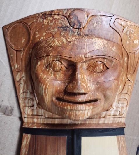 Northwest coast carving wood SH2