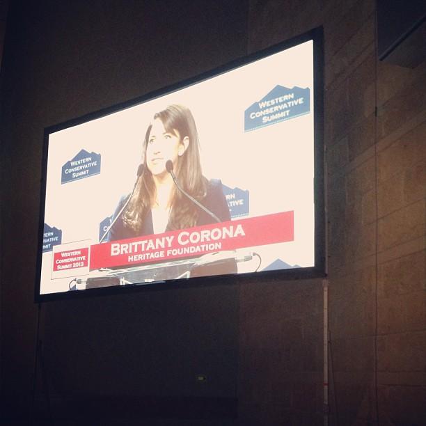 2013 08 - Brittany Corona at Western Conservative Summit.jpg