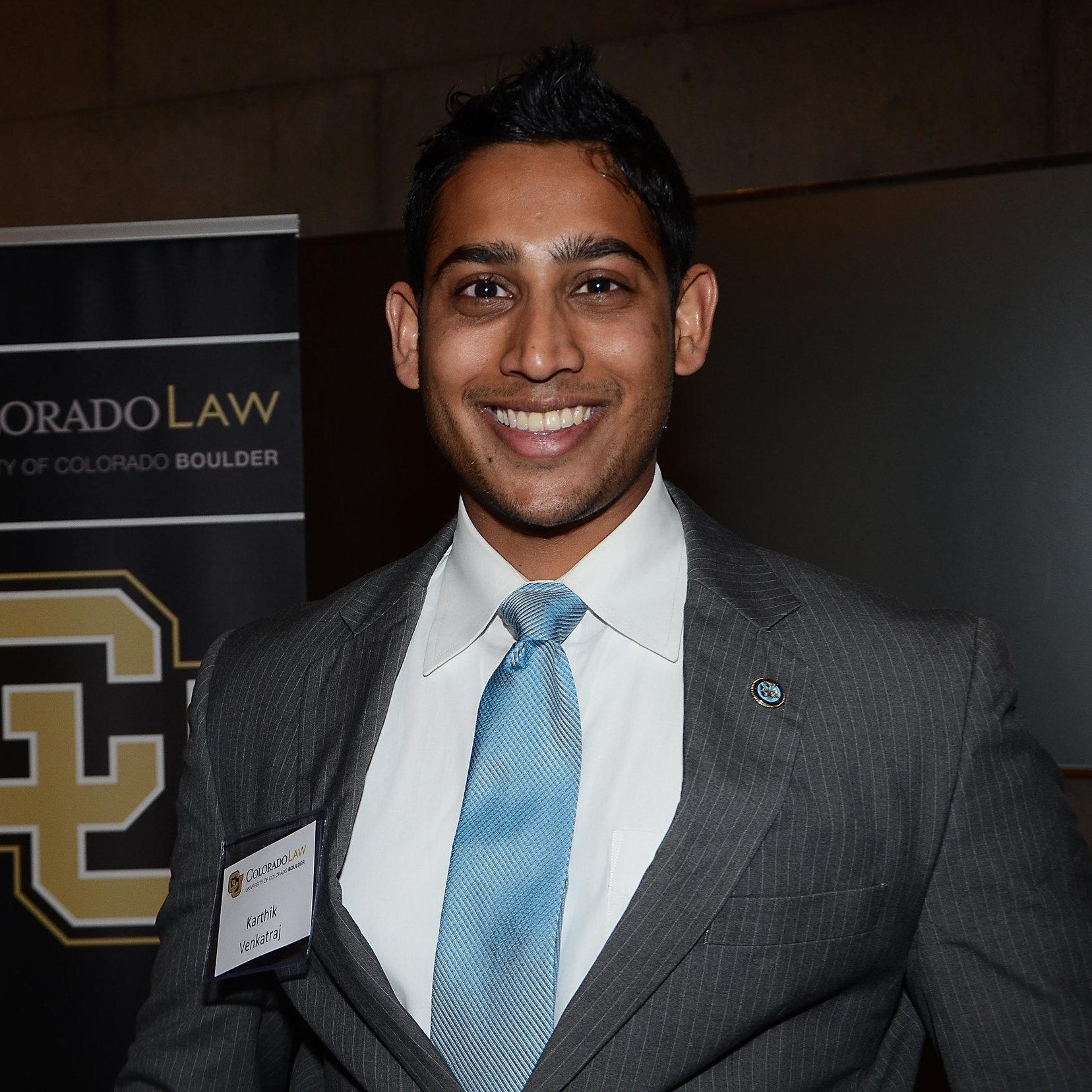 Karthik Venkatraj is a 3L Student at University of Colorado Law School