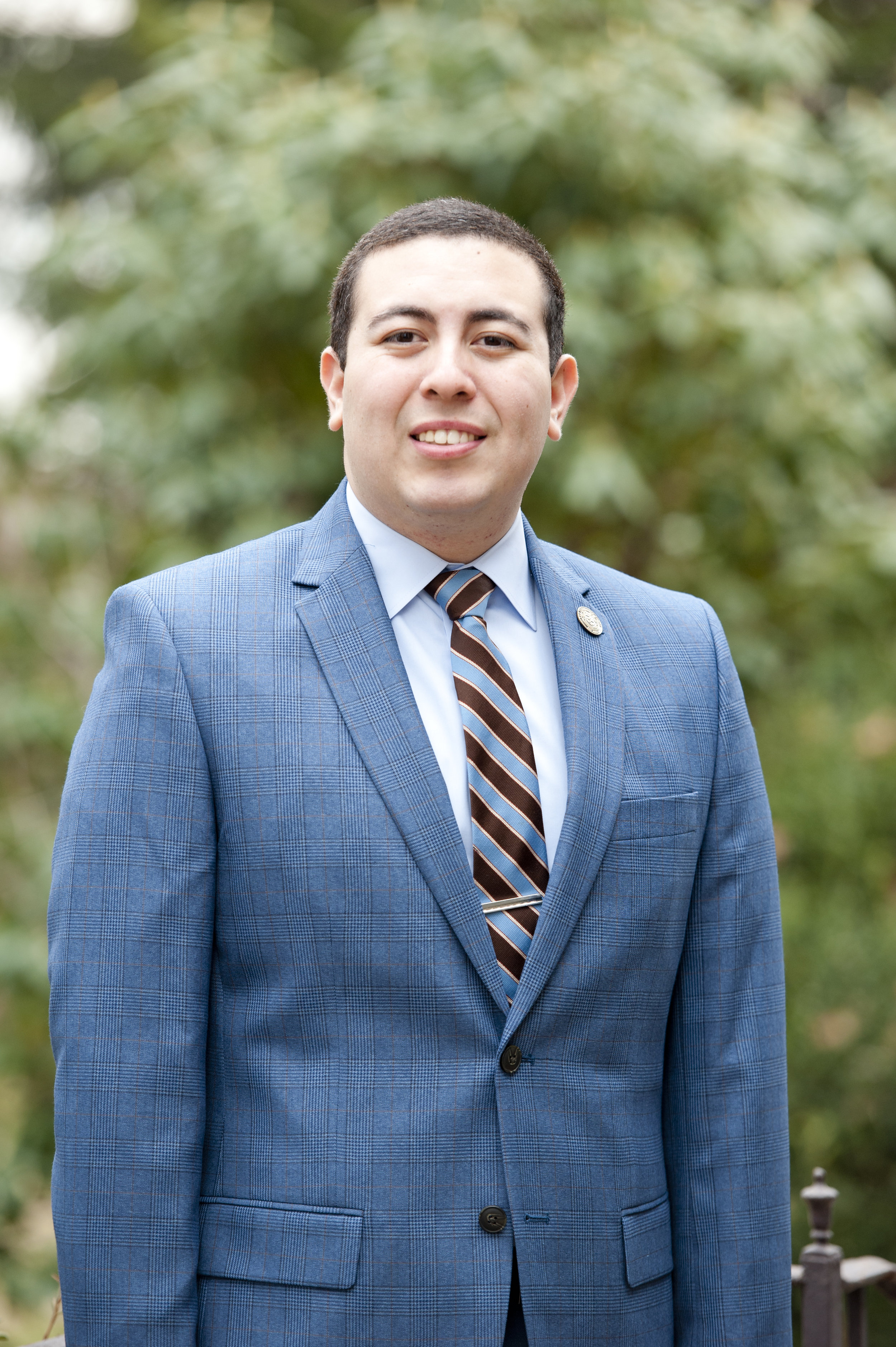 Gabriel Ozuna, Spring 2018 John Jay Fellow, graduated from Yale University with a degree in History.