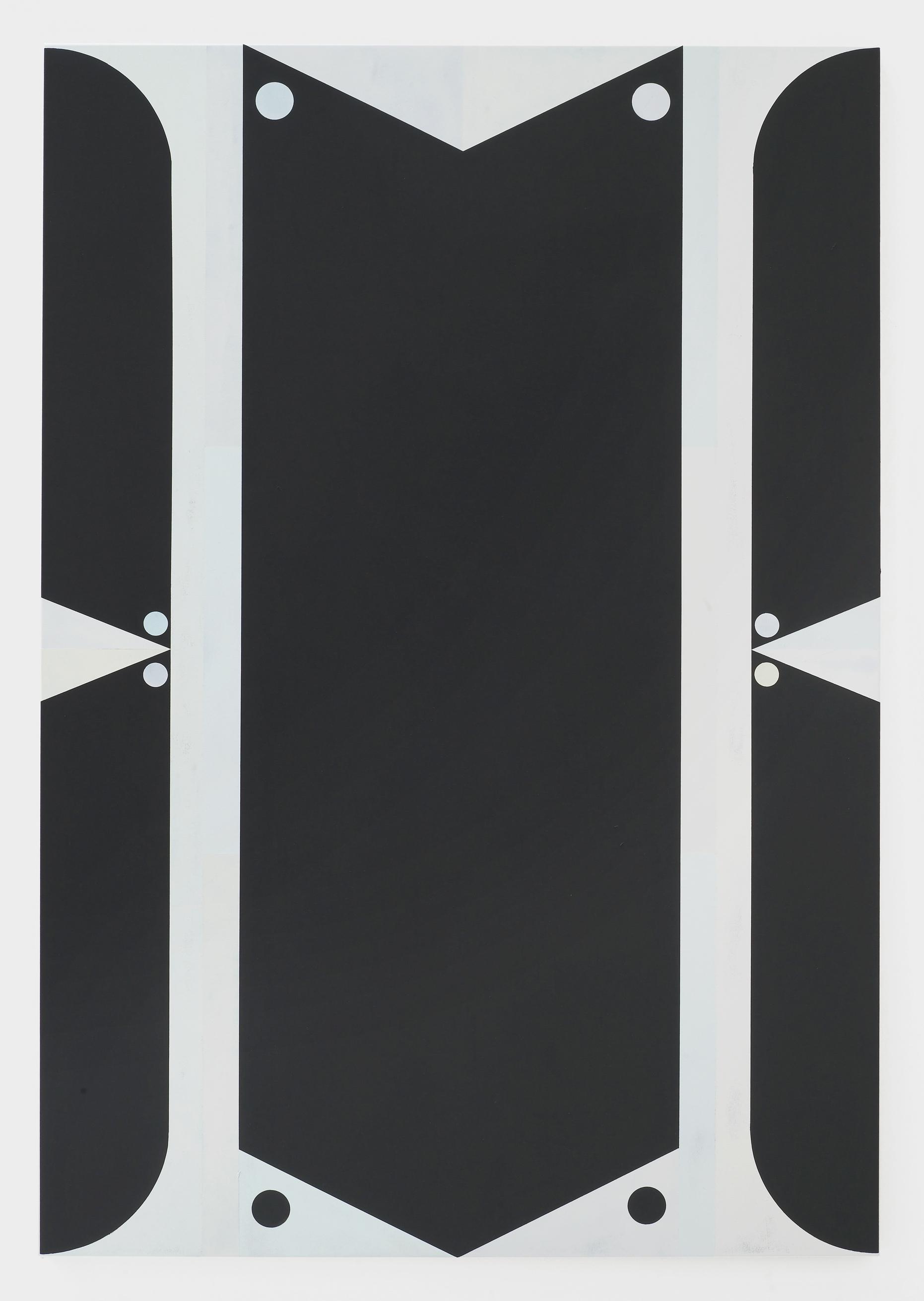 Artist: Robin Seir  Title: 'Ebisu', 2016  Medium: Acrylic on canvas  Dimensions: 190 cm (h) x 130 cm (w)
